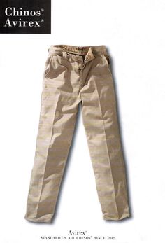 Levi's would like to make its Dockers like Avirex makes its Chinos. I bought my last in Italy, but now we have Avirex stores in Madrid and Barcelona. Good news. Best Chinos, no doubt.