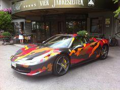 Toms Camo Ferrari Italia spider