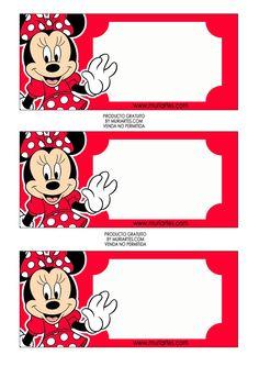 Etiquetas Minnie