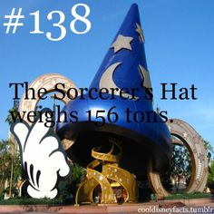 The Sorcerer's Hat weighs 156 tons. Lets hope that never collapses on anyone...kinda makes me never want to walk under it.