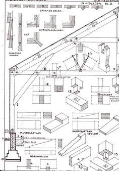 Houtskeletbouw: Bouwkundig detailleren - details bouwkunde. Woodworking Joints, Woodworking Plans, Building Plans, Building A House, Timber Structure, Wood Joints, Pallet House, Wood Detail, New House Plans