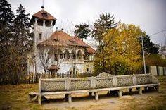 Imagini pentru vila minovici Architecture Student, Art Museum, Folk Art, Gazebo, Villa, Bucharest Romania, Outdoor Structures, Cabin, House Styles
