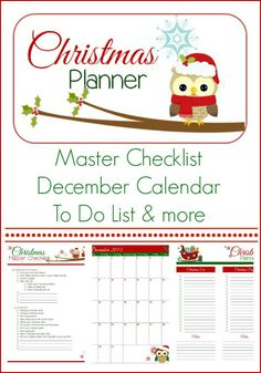 Here's a Christmas planner that'll keep you organized and stress free this holiday season. Maria of Krafty Card ...