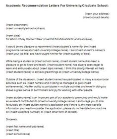 recommendation letter for graduate school College Recommendation Letter Graduate School - Compudocs. Letter Templates, Resume Templates, Reference Letter For Student, Teacher Letter Of Recommendation, Miss And Ms, Letter To Teacher, Resume Builder