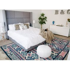 "Cara Van Brocklin on Instagram: ""One more from yesterday's master bedroom post with @wayfair on the blog. #caralorenhome #wayfairathome"""