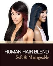 Model Model Synthetic Ponypom and Bang Drawstring Ponytail - FLEXI 100 Human Hair Wigs, Remy Human Hair, Bobbi Boss Wigs, Soft Dreads, Curly Crochet Hair Styles, Half Wigs, Wig Styles, Crochet Braids, Synthetic Wigs