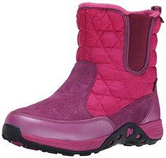 Merrell Jungle Moc 2 Waterproof BT Snow Boot (Little Kid/Big Kid), Berry, 1 W US Little Kid Merrell http://www.amazon.com/dp/B00QCEYFCW/ref=cm_sw_r_pi_dp_2qzewb1NVG54X