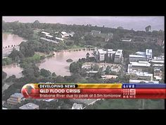 ▶ Brisbane Floods Qld University 2011-01-12 - YouTube