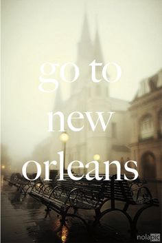 pretty much the only city I want to visit in the south