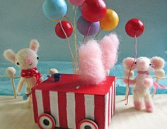 Cotton candy! by Susan Mitchell