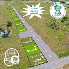Teren intravilan de 300 m2 constructii case in Sanleani  Pret 10000 euro / parcela  In continuare ne face o deosebita placere sa va prezentam spre achizitie posibilitatea de a achizitiona un teren intravilan pentru constructii case cu regim de inaltime P1M in suprafata de 300 m2  la aproximativ 30 m de Sanleani pe drumul catre Siria. Cele 19 parcele disponibilie se afla cu PUZ-ul in aprobare iar din Octombrie 2019 noi proprietari vor putea incepe constructia de case. Accesul la teren va fi… Drum, Garden, Instagram Posts, Sports, Hs Sports, Lawn And Garden, Sport, Gardens, Outdoor
