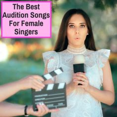 The best audition song for a female singer is the one that allows you to show off your unique singing skills, especially those relevant to the particular audition. These songs all. Musical Theatre Auditions, Singing Auditions, Audition Songs, My Singing, Fun Songs To Sing, Best Karaoke Songs, Best Songs, Grace Music, Female Songs