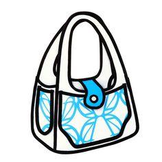Cartoon Handbag--Ive seen these and I want one!!