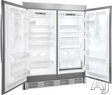 Frigidaire FPRH19D7LF 18.6 cu. ft. All Refrigerator with 3 Full-Width Cantilever Glass Shelves, 1 Full-Width Humidity Controlled Clear Crisper, Performance Lighting and Optional Trim Kit for Built-in Look (Trim Kit Sold Separately)