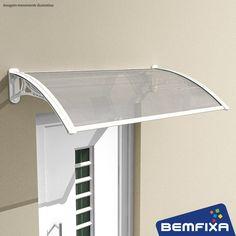 Toldo Para Portas ou Janelas - Transparente   Modulável e fácil de instalar!