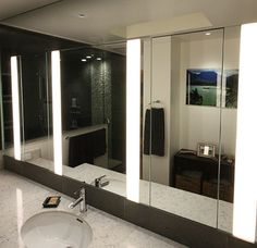 Picture Gallery Website Extraordinary Bachelor Pad Combines Rustic and Ultimate Ideas Neutral Bathroom Hidden LED Lighting Ultimate Bachelor Pad Redux