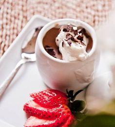 Chocolate pot de creme, with link to recipe <3