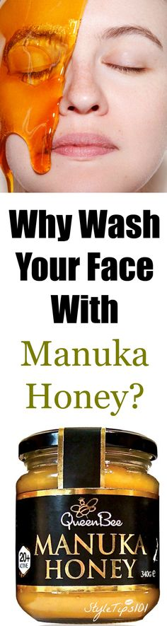 This DIY manuka honey face mask will leave your face absolutely FLAWLESS! Gets rid of acne, oily skin, dry skin, fine lines, and dark spots. Manuka honey is seriously my new favorite thing!
