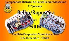 Futsal: Pavilhão da Fonte Nova volta a receber derby local