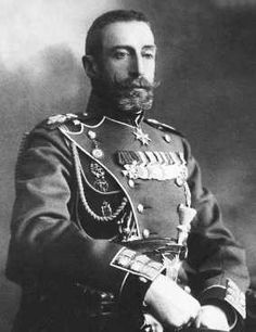 Grand Duke Konstantin Konstantinovich, severe, but totally handsome....