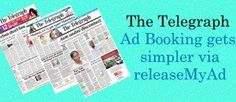 releaseMyAd is now accepting bookings for releasing classified Ads in The Telegraph at NO Extra charges! Now you can book your ad straight through the internet