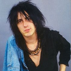 Izzy Stradlin (April 9, 1962) American guitarist o.a. known from the band Guns N' Roses.