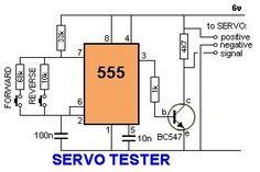 ServoTester555