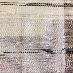 #weaving #textile #fiberart #bridgettesegraves #bridgettesegravesdesigns #linen #minimalism #loom
