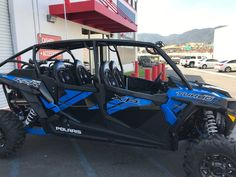 "New 2017 Polaris RZR XP 4 Turbo EPS ATVs For Sale in California. <p style=""margin-bottom: 1em;"">4 seats to share unmatched power, suspension, and agility.</p>"