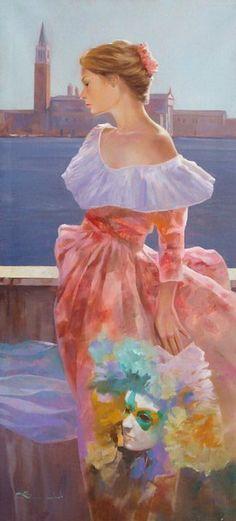 Spartaco Lombardo 1958   Italian modern figurative painter