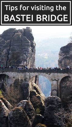 Visiting the Bastei Bridge, Germany