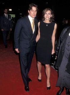 Elizabeth HurleyEn couple avec Elizabeth Hurley, Hugh Grant est surpris avec une prostituée. Si
