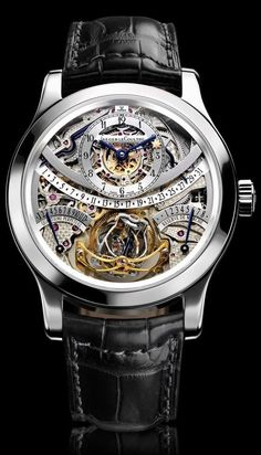 Jaeger LeCoultre Hybris Mechanica a' Gyrotourbillon L' Excellence Amazing Watches, Beautiful Watches, Cool Watches, Dream Watches, Fine Watches, Men's Watches, Rolex, Jeager Le Coultre, Omega