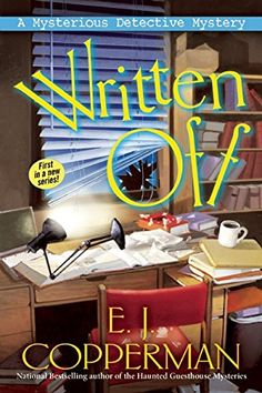 Written Off: A Mysterious Detective Mystery by E. J. Copperman http://www.amazon.com/dp/1629535990/ref=cm_sw_r_pi_dp_qClxwb12NZWW5