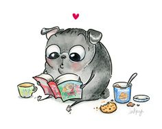 Me Time! by InkPug!