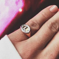 Any combination possible with our signet ring!