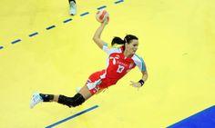Anita Gorbicz, handball player from hungary