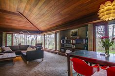Score an Updated Usonian-Style Home in Wisconsin for $535K - House of the Day - Curbed National