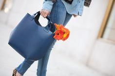 Flowers for Precious :: Blue denim