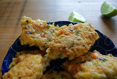 Shrimp and Coconut Fritters #picnic