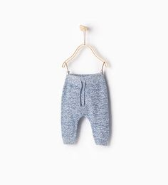 Knit trousers from Zara - $18