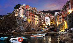 Die schönste Städte der Welt -- Riomaggiore, Italien