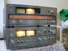 Sony TA-F7B Premain Amplifier and ST-A7B Tuner