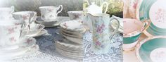 Vintage and Romantic China at The Cottage Heart.