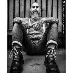 #mulpix  #Repost @pip_s_atkins_the_gentleman with @repostapp. ・・・  #photooftheday  #photographer  #pictureoftheday  #picoftheday  #instalove  #drmartens  #fredperry  #skinhead  #fashion  #fashionista  #mode #braces  #denim #like4like  #likeforlike  #instagram  #instalike  #instalove  #beard #beardgang  #beatdlove #style #tattoo  #ink #swag  #swagger #inked #tattoos  #style #stylish #dapper Tattoo Ink, Tattoos, Skinhead Fashion, Jeans Fabric, Beard Gang, Denim Style, Fred Perry, Atkins, Denim Fashion