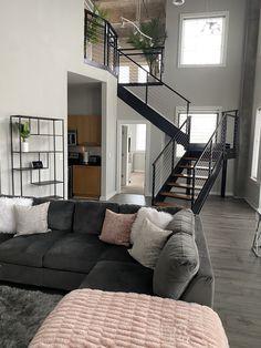 Girl Apartment Decor, First Apartment Decorating, Dream Apartment, Apartment Living, Apartment Goals, Apartment Ideas, Dream Home Design, Modern House Design, Living Room Designs