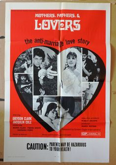 """Movie Poster  """"Mothers Fathers & Lovers""""  Original 1971 Movie Poster…"""