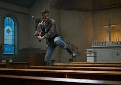 """"""" I have a weapon! """" Preacher, Season 1, Episode 3, The Possibilities"""