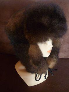 5e3520a48b6 New Zealand Possum Fur Man s Bush Hat Fur Outside by bearcottage Fur Hats