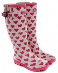 Heart rain boots- if I ever move back to Nor Cal!